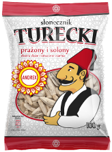 Roasted salted turkish sunflower seeds - 100g